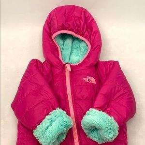 The North Face Mossbud Toddler Coat Pink Teal